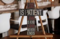 Love is Patient Cross