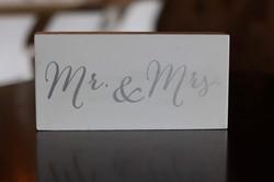 White Block Mr. & Mrs.