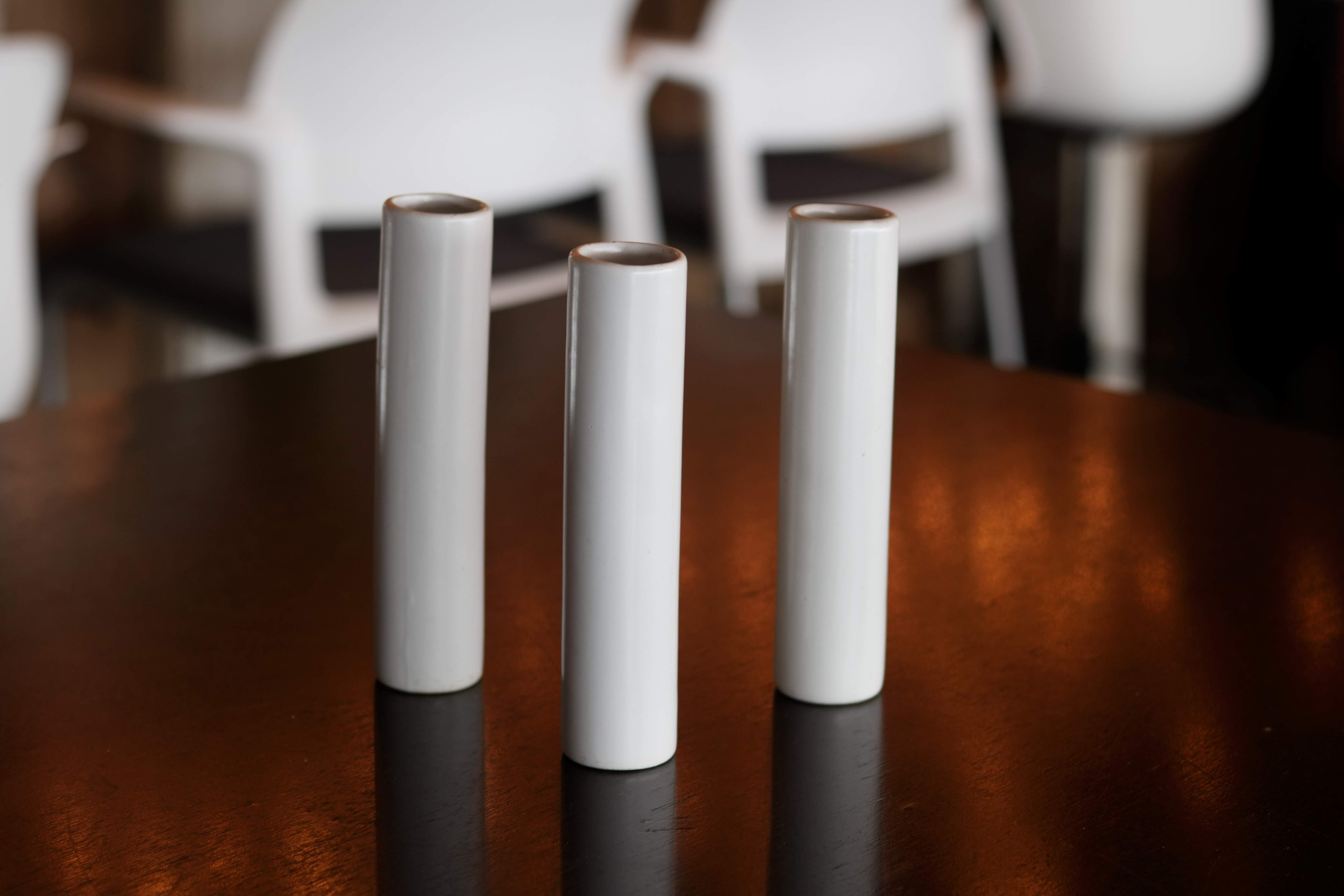 White Cylinders