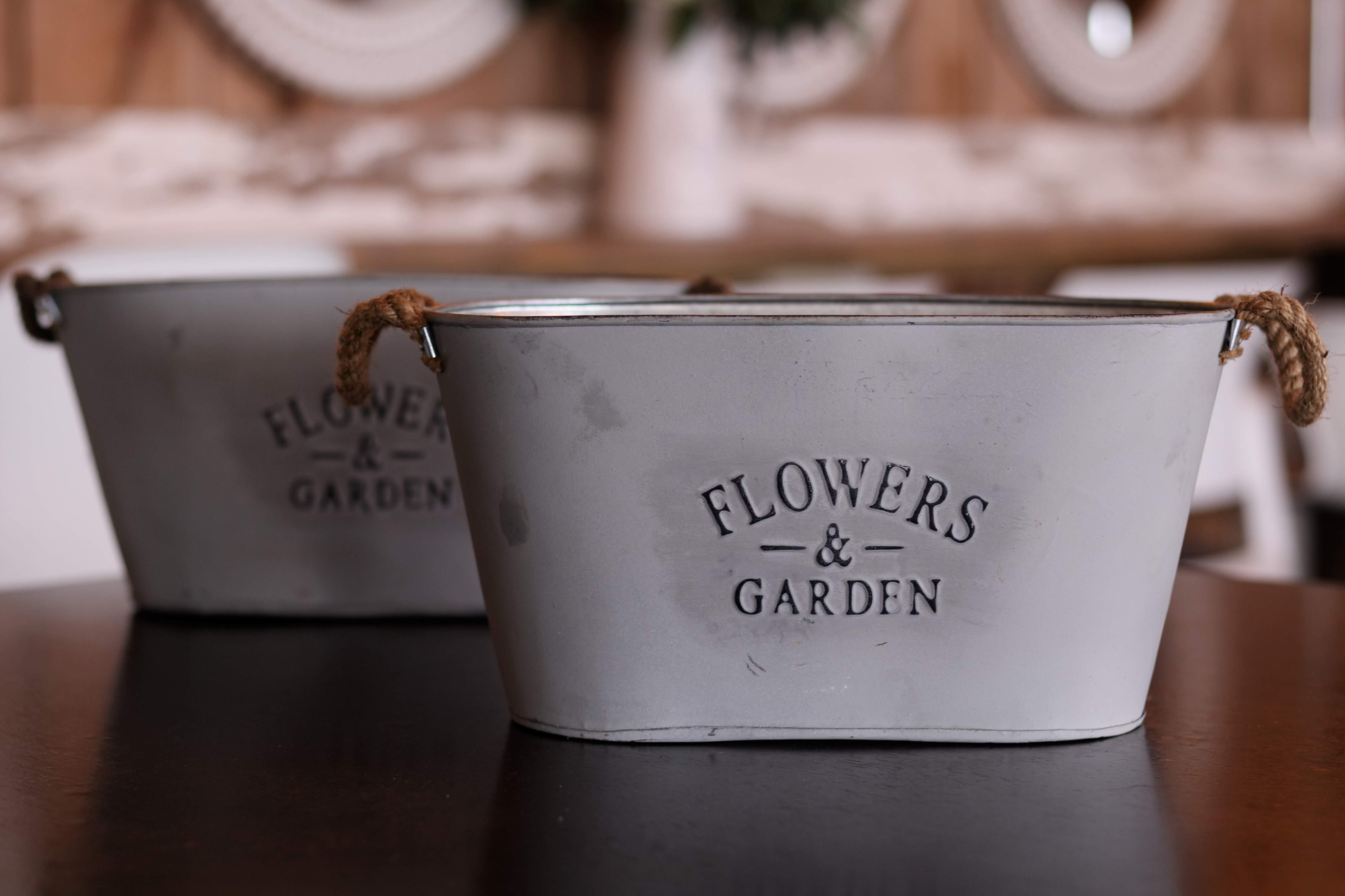 Flower and Garden Bucket