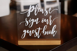 Clear Guest Book