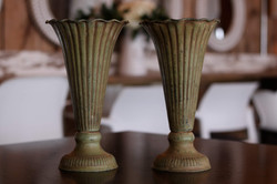 Two Large Vases
