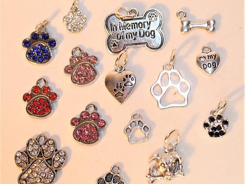 Dog Charm Key Chains