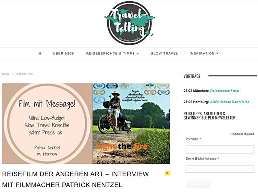 Interview auf dem Reise Blog  TravelTelling ...