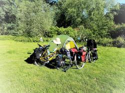 Das Dreigestirn - schöner Campspot