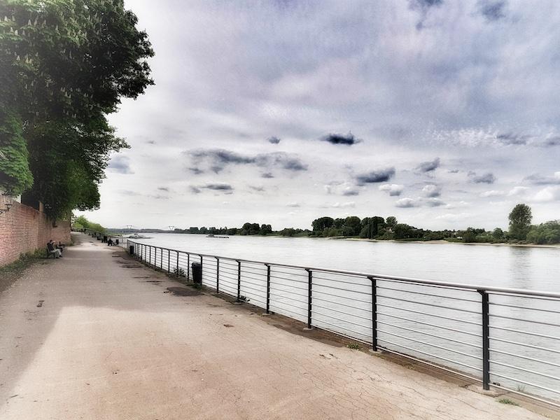 Rhein bei Kaiserswert