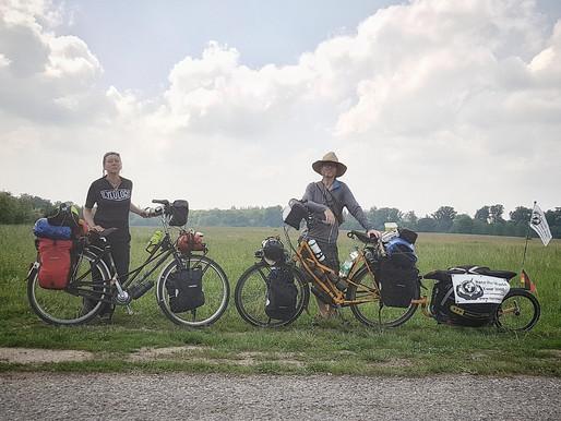 Fotos ... Radreise 2018  Vom Rhein an den Neckar und über die Schwäbische Alb