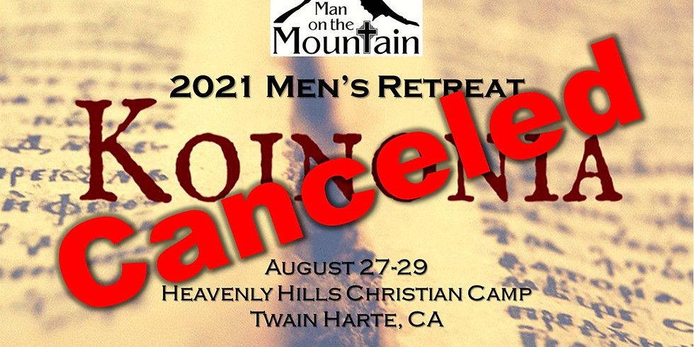 2021 MOTM Men's Retreat