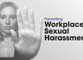 Sexual Harassment Training in the Workplace
