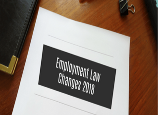 On the Horizon: New Employment and Labor Laws Affecting California Employers in 2018