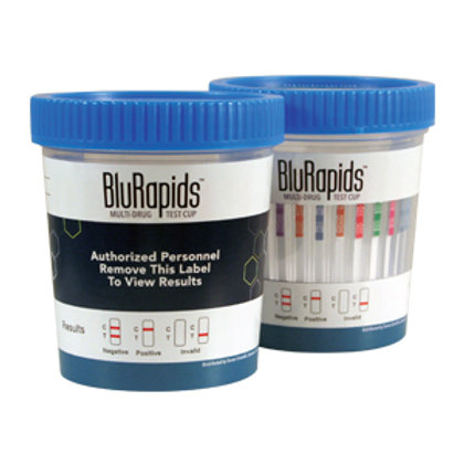 BluRapids® Multi-Drug Test Cups