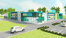 Дизайн проект гипермаркета