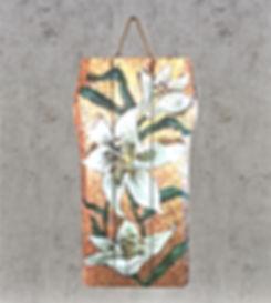 Живопись на брашированной доске