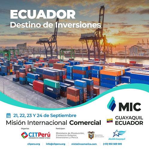 MISION INTERNACIONAL COMERCIAL A ECUADOR
