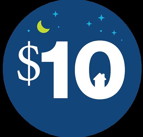 Additional $10 Donation