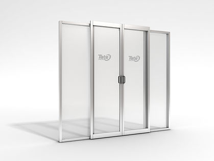 Bullet Proof Glass Sliding Door System