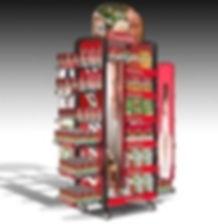 Campbells Soup Mobile Soup Merchandiser Rack