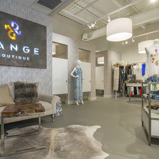 new range boutique sign with clothing 2.