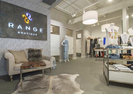 Entrance to Range Boutique