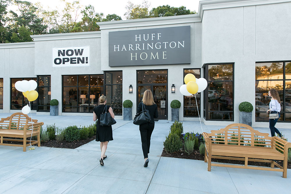 Exterior of Huff Harrington Home
