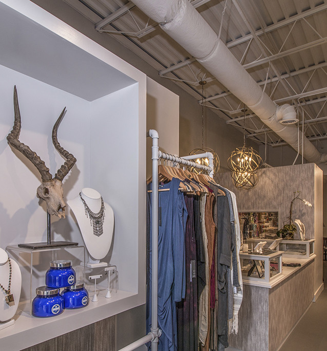 Jewelry and clothing display