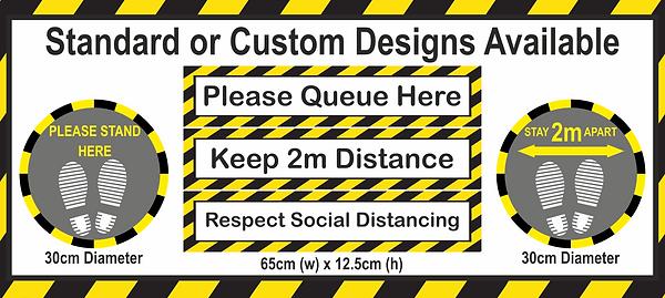 Floor Graphic Advert Floor Strip All Des