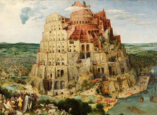 Πύργος της Βαβέλ, τότε και σήμερα