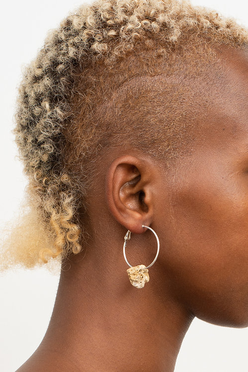 VAIL ARCHIVE SANDSTONE EARRING