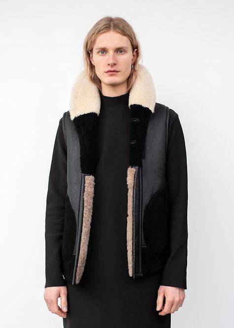 Alexander McQueen Shearling Vest