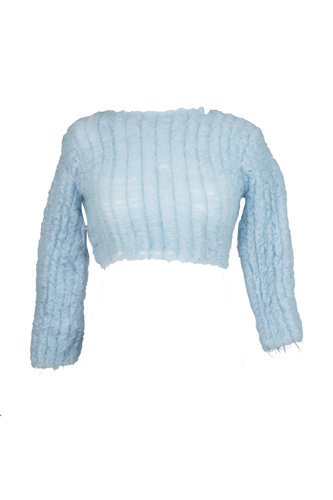 ARCHIE DICKENS FLOATED CROP TOP