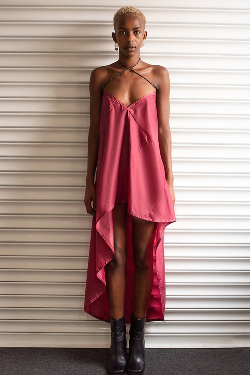 CHLOE BAINES ROUGE SLIP DRESS