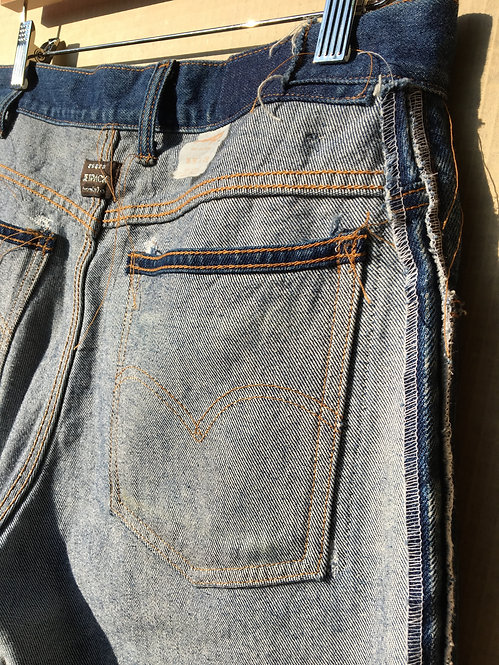 JETPACK HOM(M)E DECONSTRUCTED RECYCLED JEANS