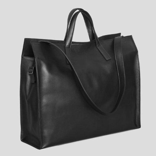 XENAB LONE BLACK LEATHER BAG