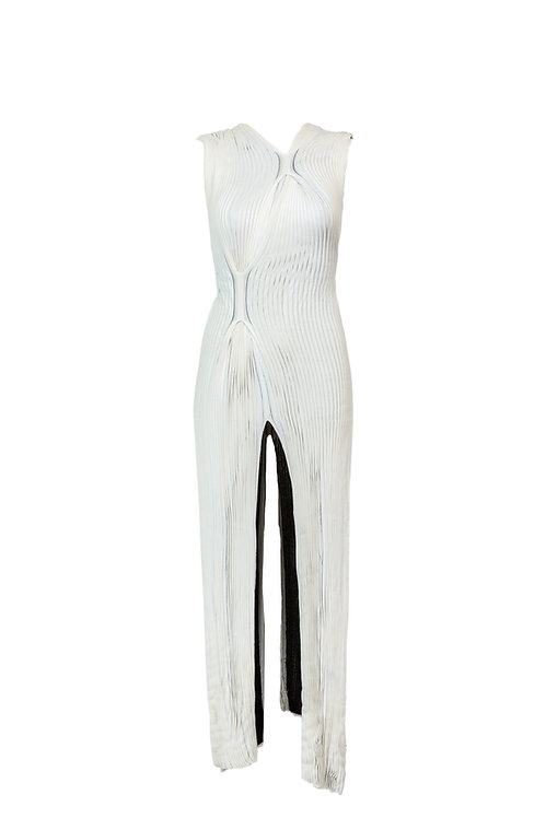 ARCHIE DICKENS WHITE DRESS