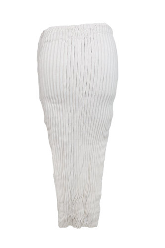 ARCHIE DICKENS PLEATED SILK SKIRT TOP