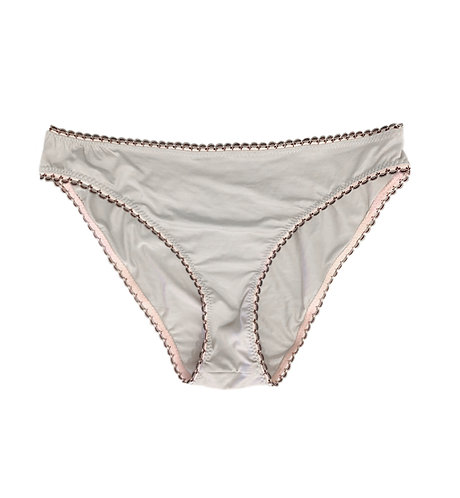 STITCH ETHICAL GREY BAMBOO KNICKERS
