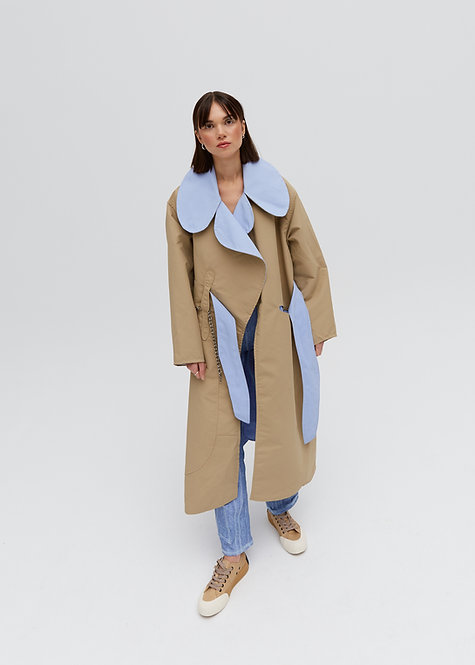 APOREEI ROES DUSTER COAT