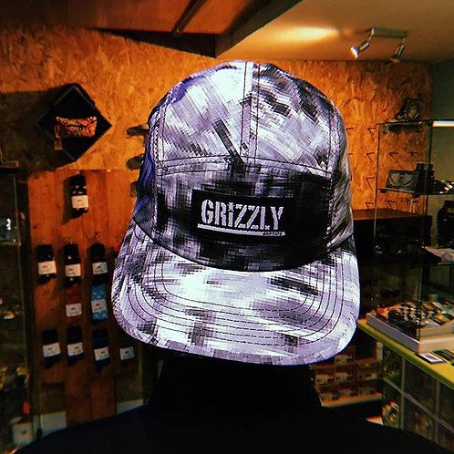 Gorra Grizzly Griptape Digi Tie Dye 5 panels