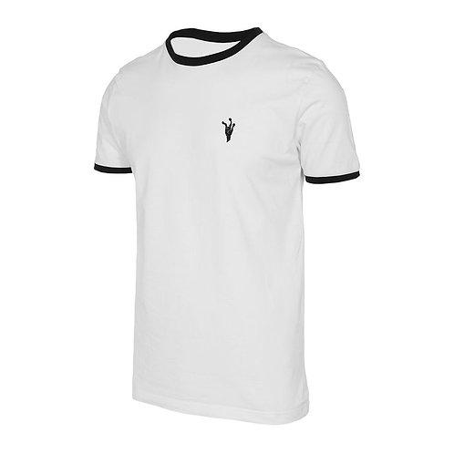 Camiseta Reptil Corp SpaceAnti Human White