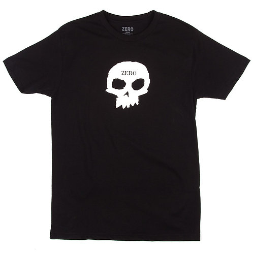 Camiseta Zero Single Skull Black