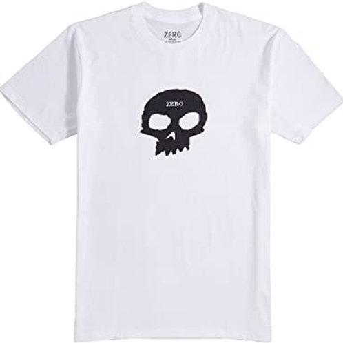 Camiseta Zero Single Skull White