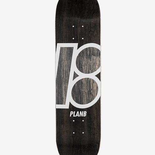 "Tabla Skate Plan B Team Stain 8,125"""
