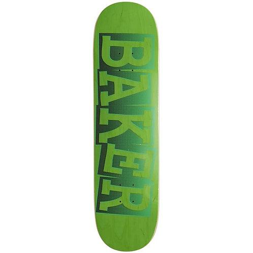 "Tabla Baker Ribbon Name Green Riley 8.38"""