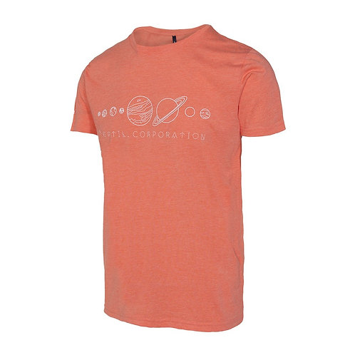 Camiseta Reptil Corp Planets Coral Marl