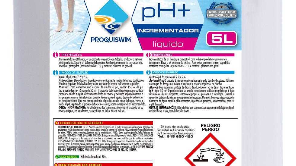 pH+ Incrementador 5l
