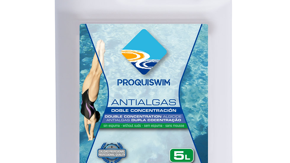 Antialgas doble concentración 5l