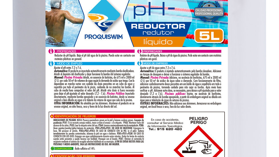 pH- Reductor 5l
