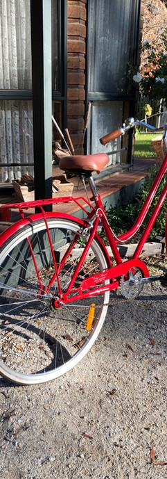 Loan bikes