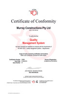 20996 QMS certificate Aug19