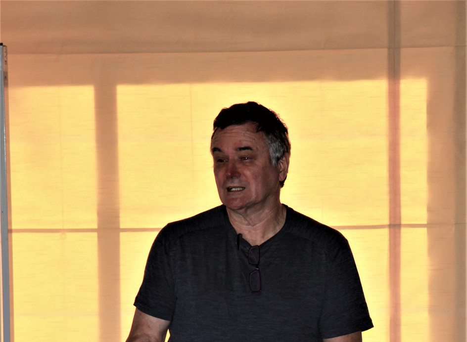 Mark Pearson leading worship